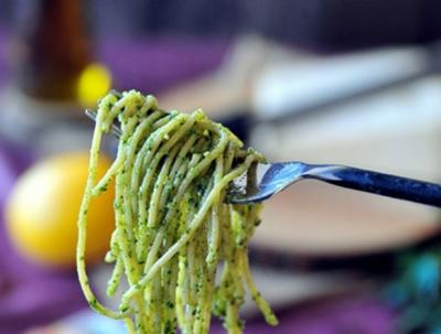 Spaghetti aux crevettes2008106