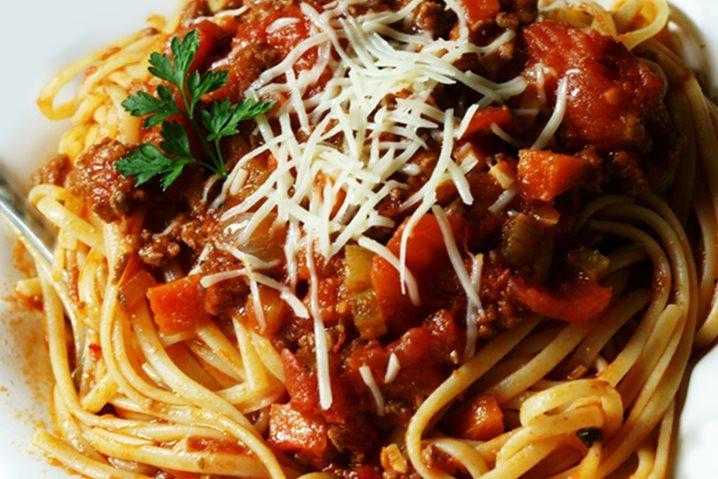 Spaghettis  bolognaise 02-05-2014