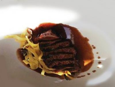 Rumsteack sauce au vin Rouge20150920