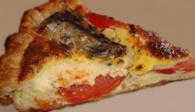 Tarte aux sardines et tomates20130530