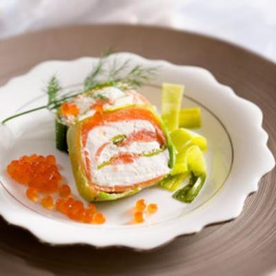 Terrine de saumon fume aux poireaux20061116