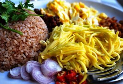 Thai bagoong riz frit