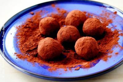 truffles chocolat