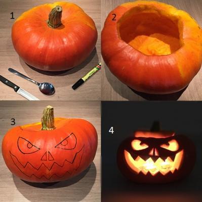 Halloween et les citrouilles