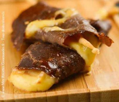 yakitori-beauf fromage