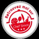 Badge chef simon blanc
